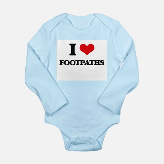 I Love Footpaths Body Suit