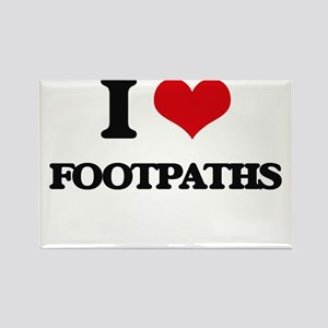 I Love Footpaths Magnets
