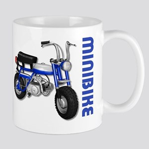 Minibike Blue Mug