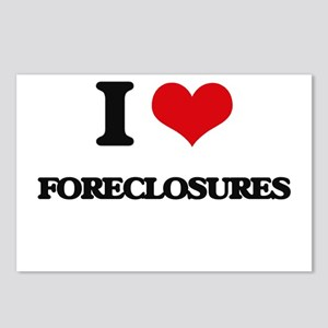 I Love Foreclosures Postcards (Package of 8)