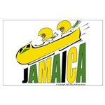 Jamaica Bobsled Large Poster