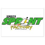 Jamaica Sprint Factory Large Poster