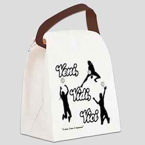 VENI-VIDI-VICI Canvas Lunch Bag
