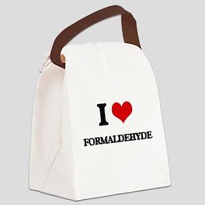 I Love Formaldehyde Canvas Lunch Bag