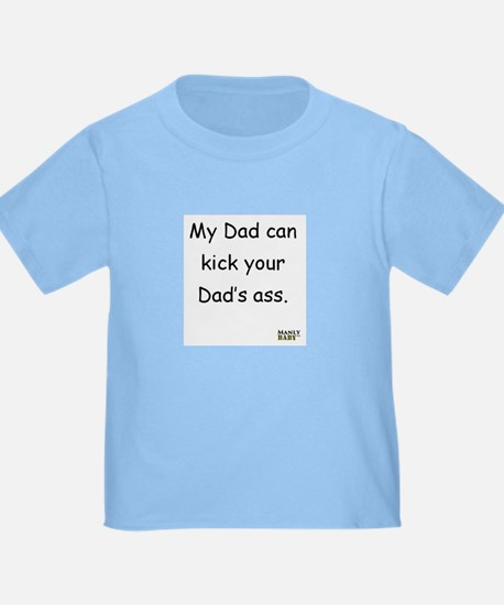 Unique Kick ass dad T
