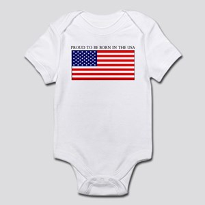 Born in the USA Infant Bodysuit