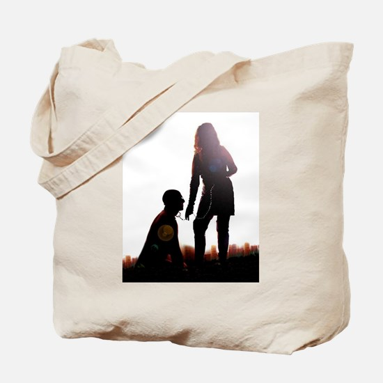 Mistress and slave Tote Bag