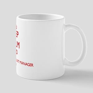 Keep Calm and Insurance Account Manager Mug