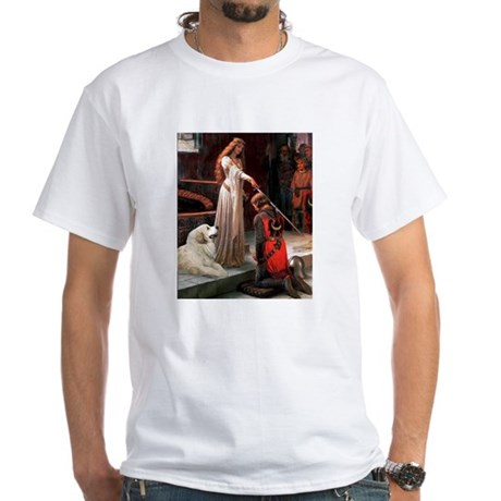 The Accolade & Great Pyrenees White T-Shirt