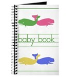 Pastel Whale Baby Journal