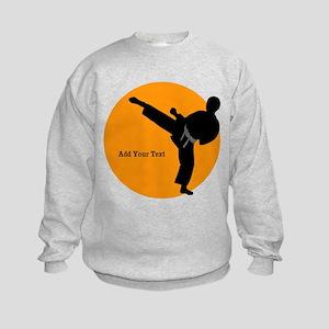 Martial Arts Kids Sweatshirt