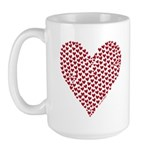 Heart of Hearts Large Mug