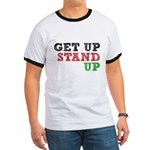 Get Up Stand Up Ringer T