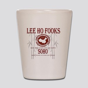 Werewolves of London Lee Ho Fooks Shot Glass