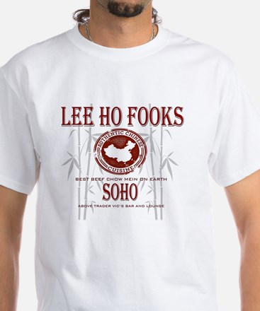 Werewolves of London Lee Ho Fooks White T-Shirt
