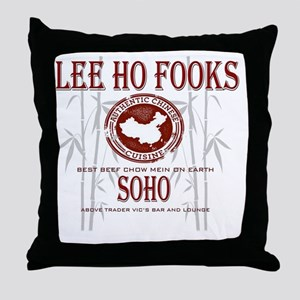 Werewolves of London Lee Ho Fooks Throw Pillow