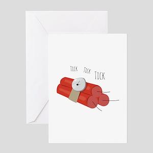 Tick Tick Tick Greeting Cards