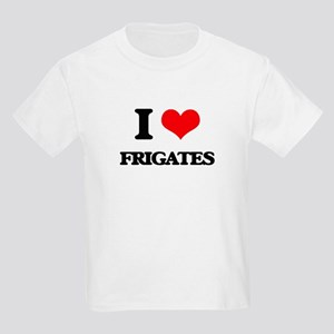 I Love Frigates T-Shirt