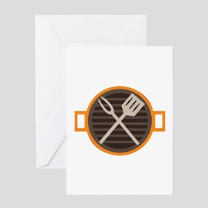 BBQ Grill Greeting Cards