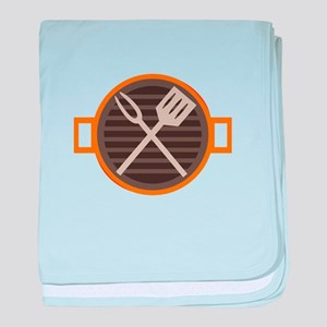 BBQ Grill baby blanket