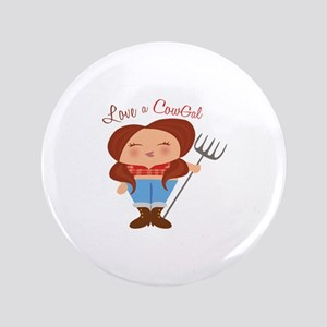 """CowGal 3.5"""" Button"""