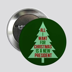"Anti Trump Christmas 2.25"" Button"
