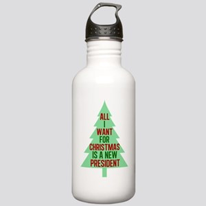 Anti Trump Christmas Stainless Water Bottle 1.0L
