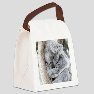 Sleeping Koala baby Canvas Lunch Bag