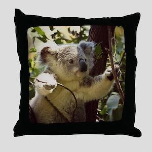 Sweet Baby Koala Throw Pillow