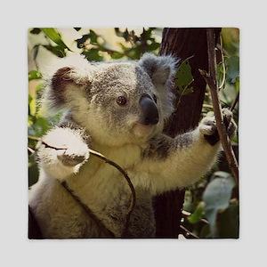 Sweet Baby Koala Queen Duvet