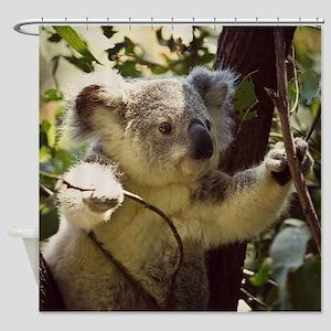 Sweet Baby Koala Shower Curtain