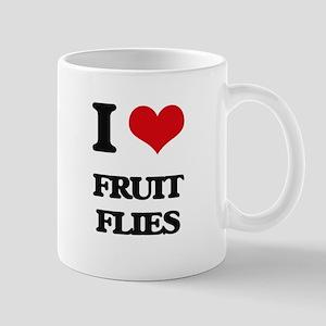 I Love Fruit Flies Mugs