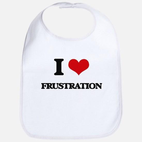 I Love Frustration Bib