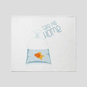 Take Me Home Throw Blanket