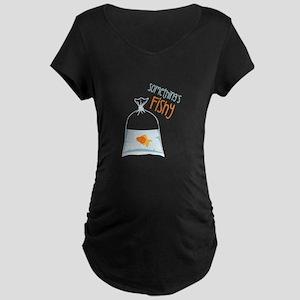 Somethings Fishy Maternity T-Shirt