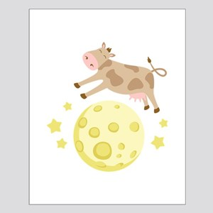 Cow Over Moon Posters