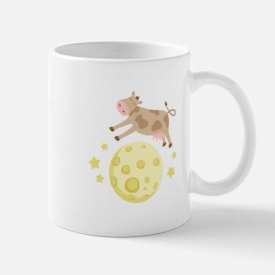 Cow Over Moon Mugs