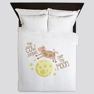 The Cow Jumped Over The Moon Queen Duvet