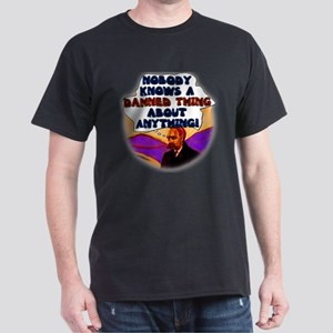 Nobody Knows a Damned Thing a Dark T-Shirt