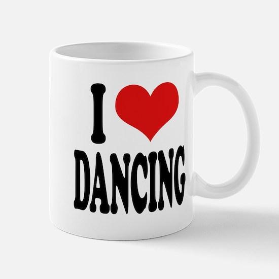 I Love Dancing Mug