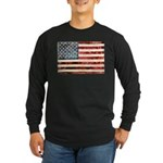 Vintage American Flag Long Sleeve T-Shirt