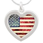 Vintage American Flag Necklaces