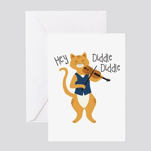 Hey Diddle Diddle Greeting Cards