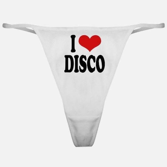 I Love Disco Classic Thong