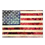 Vintage American Flag Postcards (Package of 8)