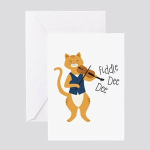 Fiddle Dee Dee Greeting Cards