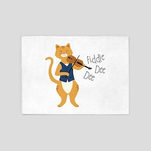 Fiddle Dee Dee 5'x7'Area Rug