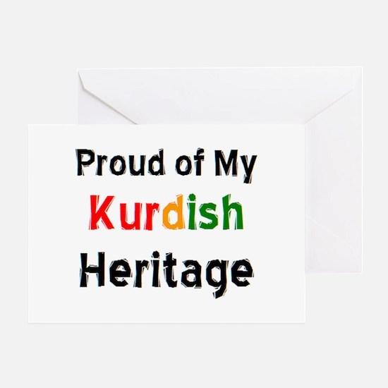 kurdish heritage Greeting Card