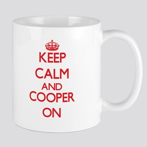 Keep Calm and Cooper ON Mugs