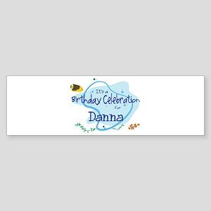 Celebration for Danna (fish) Bumper Sticker